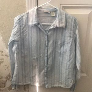 Women's Maurices light blue X-Large blouse